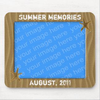 Summer Memories Photo Frame Mousepad
