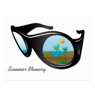 summer memory post cards