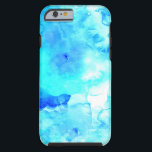 "Summer modern blue sea hand painted watercolor tough iPhone 6 case<br><div class=""desc"">A cool,  bright and modern summer hand painted dark and bright sea blue watercolor</div>"