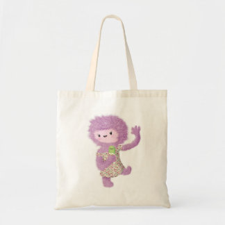 Summer Monster Lady Canvas Bag