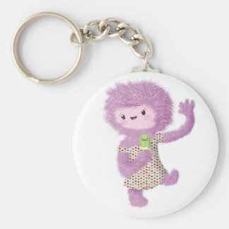 Summer Monster Lady Key Chains