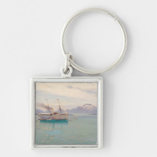 Summer Morning at Molde, 1892 Keychain