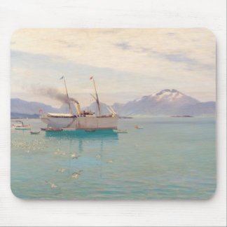 Summer Morning at Molde, 1892 Mouse Pad