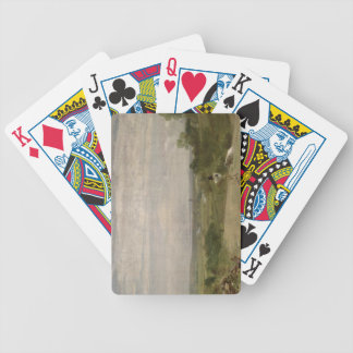 Summer Morning: Dedham from Langham Bicycle Playing Cards