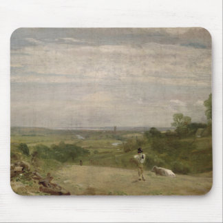Summer Morning: Dedham from Langham Mouse Pad
