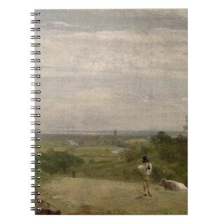 Summer Morning: Dedham from Langham Notebook