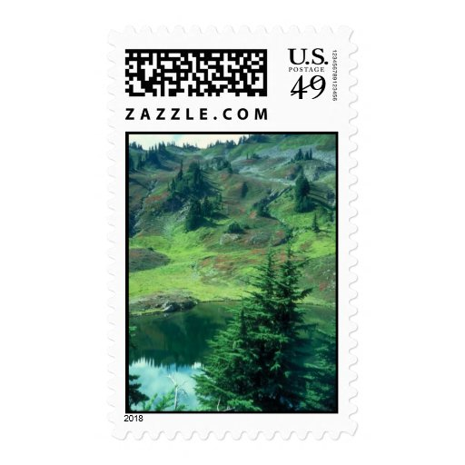 Summer Mountains Stamps