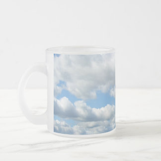 Summer Nature Frosted Glass Coffee Mug