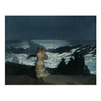 Summer Night, 1890 Postcard
