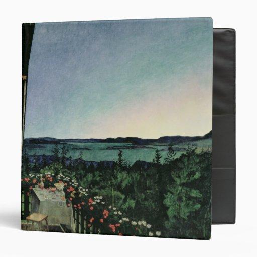 Summer Night, 1899 Vinyl Binder