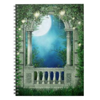 Summer Night Balcony Notebook