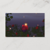 Summer Nightlights Bookmarks Business Card