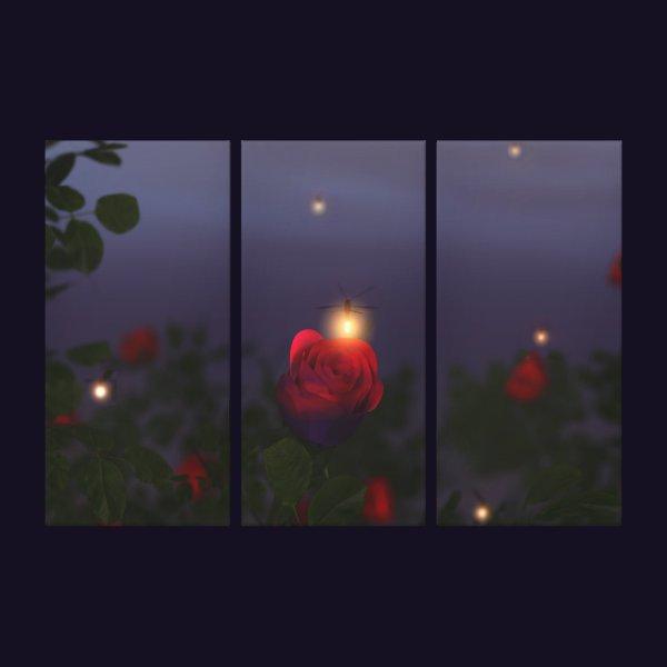 Summer Nightlights Canvas Print
