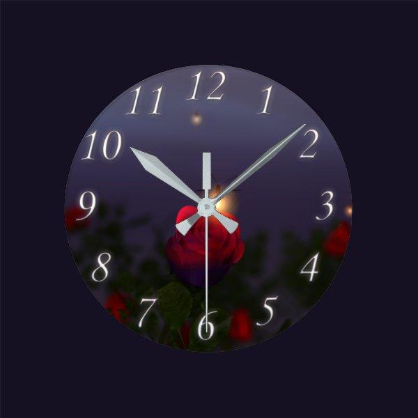 Summer Nightlights Clock