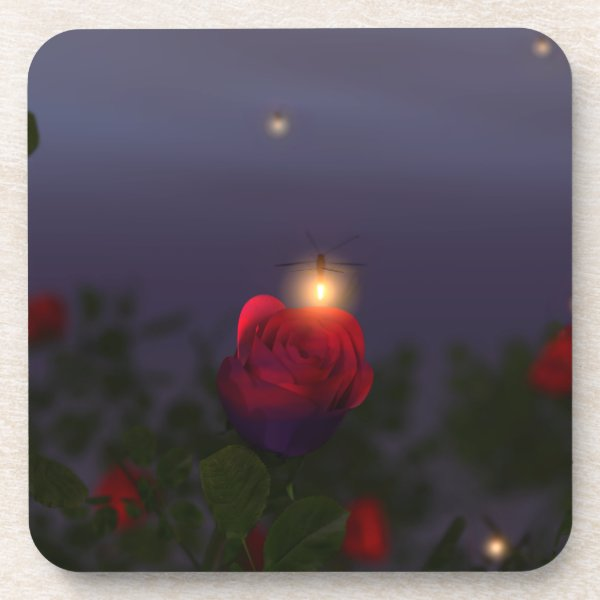 Summer Nightlights Cork Coasters