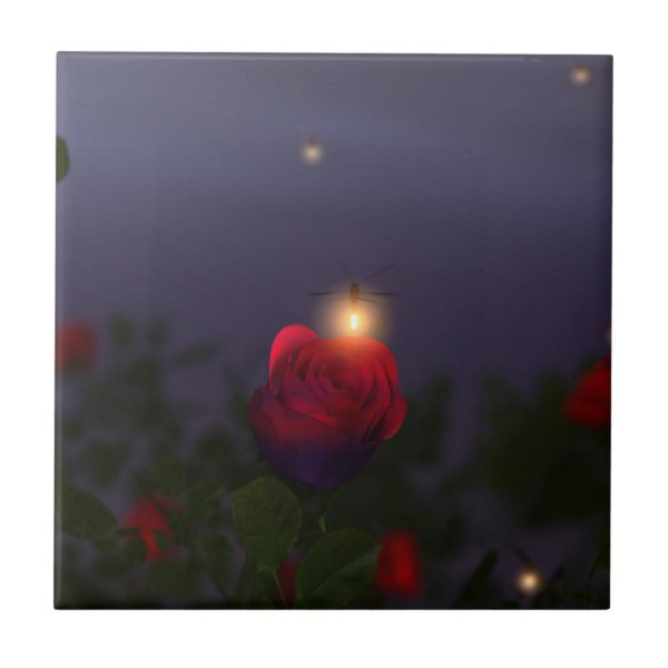 Summer Nightlights Decorative Tile / Trivet