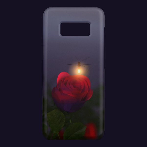 Summer Nightlights Galaxy Case