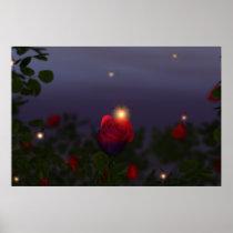 Summer Nightlights Print