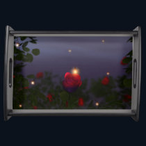 Summer Nightlights Serving Tray