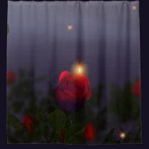 Summer Nightlights Shower Curtain