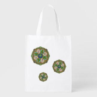 Summer Nouveau Reusable Grocery Bag