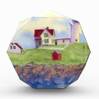 summer nubble acrylic award