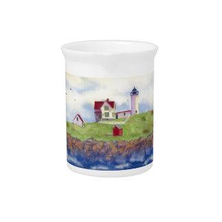 summer nubble beverage pitcher