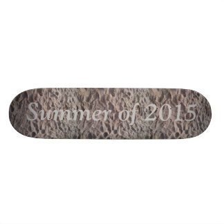 Summer of 2015 Sandy Beach Skateboard