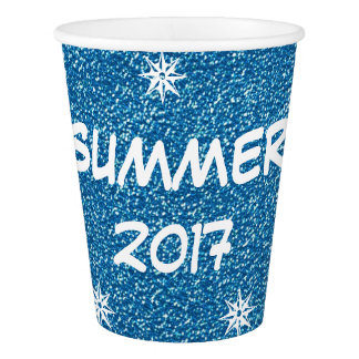 Summer of 2017, Festive Blue Party Cup