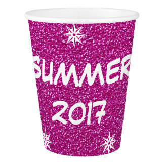 Summer of 2017, Festive Hot Pink Party Cup
