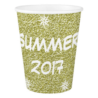 Summer of 2017, Festive Yellow Gold Party Cup