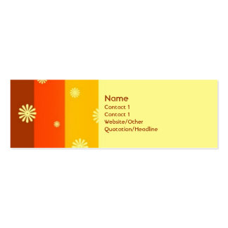 Summer of 74 Double-Sided mini business cards (Pack of 20)