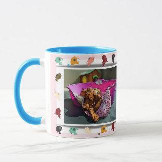 Summer of dog mug