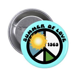 Summer of Love 69 2 Inch Round Button
