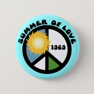 Summer of Love 69 Pinback Button