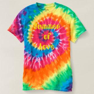 Summer of Love Hippie Tie Dye T-Shirt Groovy Boho