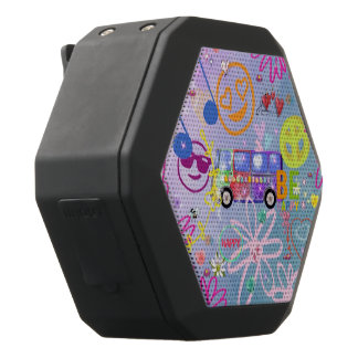 summer of love - the 60s black bluetooth speaker