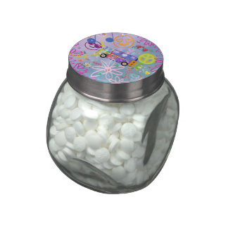 summer of love - the 60s jelly belly candy jars