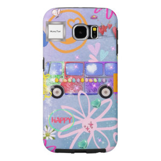 summer of love - the 60s samsung galaxy s6 case