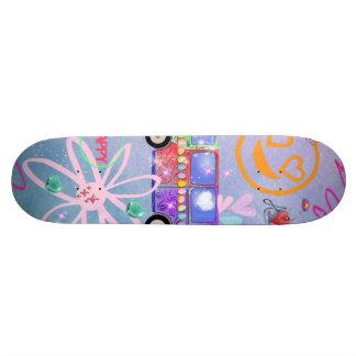 summer of love - the 60s skateboard