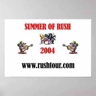 Summer Of RUSH 2004 Print