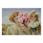 Summer Offering,  Alma-Tadema, Vintage Romanticism Posters