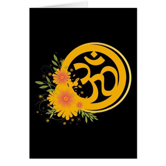 Summer Om Symbol Card