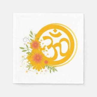 Summer Om Symbol Napkin
