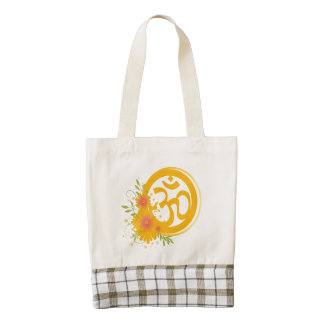 Summer Om Symbol Zazzle HEART Tote Bag