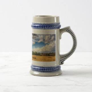 Summer on the farm beer stein