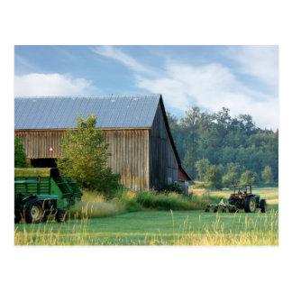 Summer on the Farm Post Card
