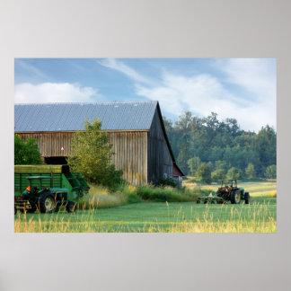 Summer On The Farm Print