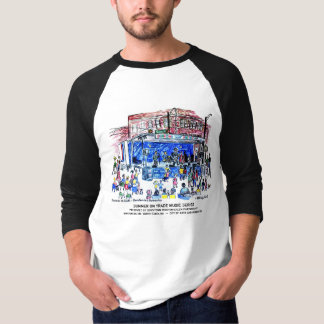 Summer on Trade 3/4 Sleeve Raglan T-Shirt
