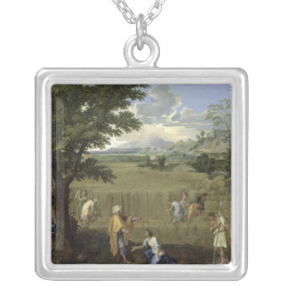 Summer, or Ruth and Boaz, 1660-64 Silver Plated Necklace
